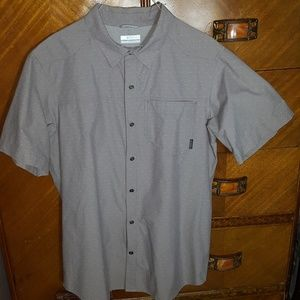 Columbia Omni-Wick Camp Fishing Shirt, Large